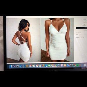 TigerMist Amber Dress WHITE SIZE: MEDIUM